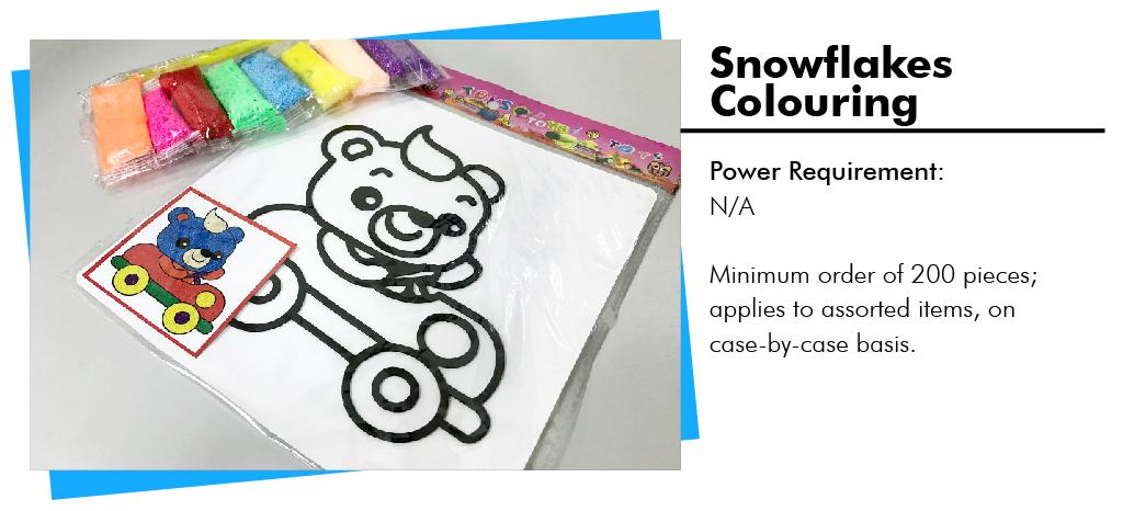 Snowflakes Colouring